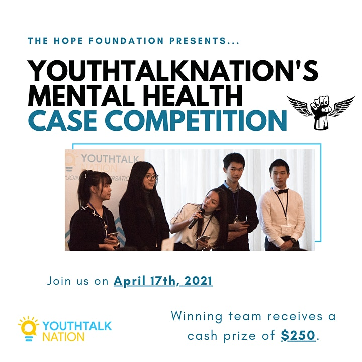 YouthTalkNation Mental Health Case Competition image