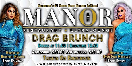 The Manor Drag Brunch tickets