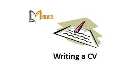 Writing a CV 1 Day Virtual Live Training in Grand Rapids, MI tickets