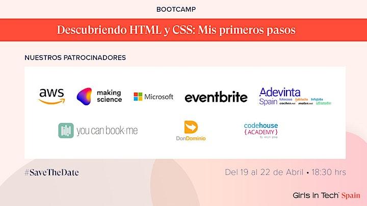 Imagen de Bootcamp Descubriendo HTML y CSS: Mis primeros pasos