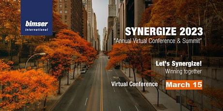 SYNERGIZE - 2023: Virtual Annual Conference for Digital Transformation tickets