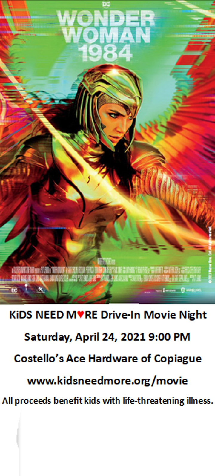 KiDS NEED MoRE DRiVE-iN MoViE NiGHT Series image