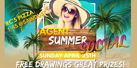 Agent Summer Social tickets