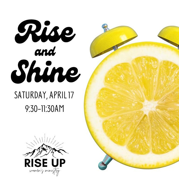 Rise and Shine - MSCC Women's Ministry image