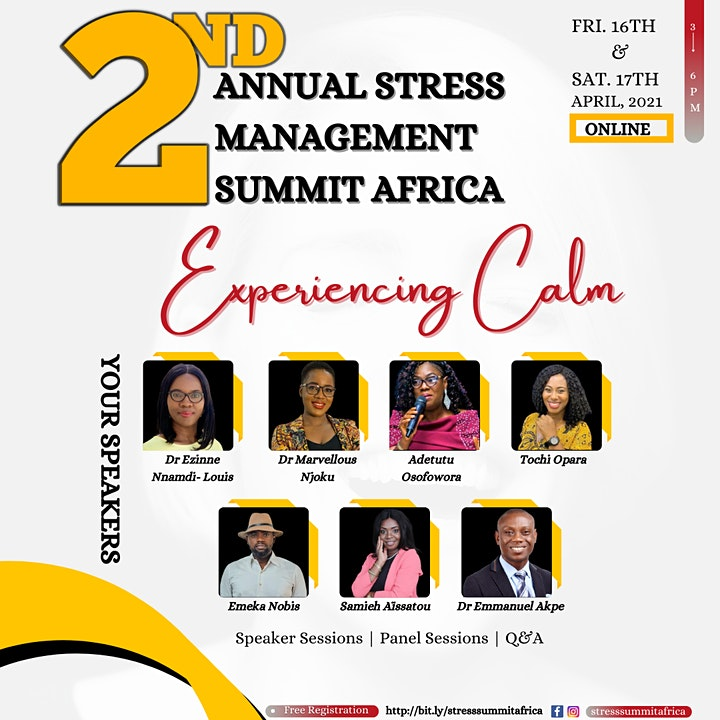 2nd Annual Stress Management Summit Africa image