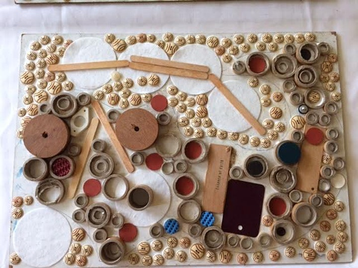 Senior's Festival: Waste Collage Wall Hanging Workshop image