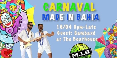 Carnaval Made in Bahia tickets