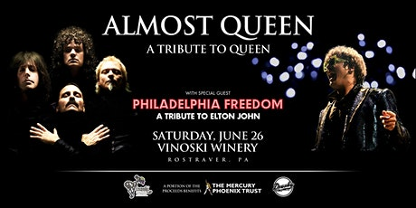 Almost Queen - A Tribute to Queen tickets