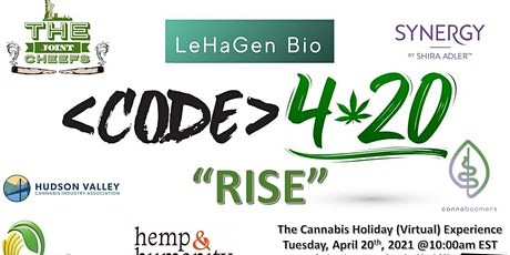 "Code 4.20 Events ""RISE""  Cannabis Holiday Celebration tickets"