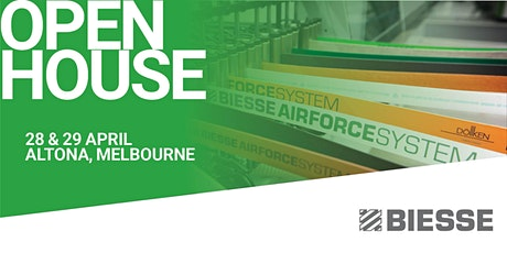 Biesse  Melbourne Open House tickets