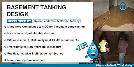 Basement tanking design tickets