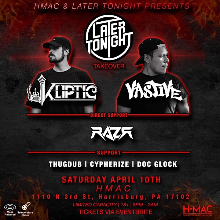 Later Tonight Takeover at the Capitol Room image