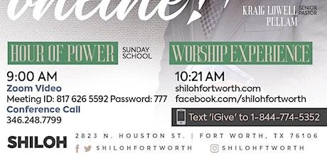 Shiloh's Sunday Worship Experience tickets