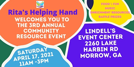 Rita's Helping Hand Community Resource Event tickets