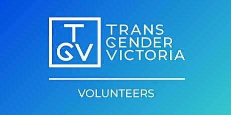 Transgender Victoria Volunteer Induction: April 2021 tickets