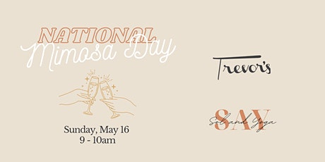 Yoga at Trevor's - National Mimosa Day tickets