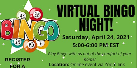 Virtual BINGO NIGHT!! tickets