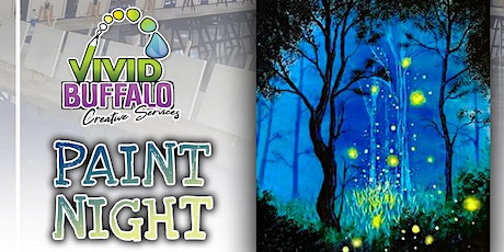 Firefly Night @ Buffalo RiverWorks Paint Night tickets