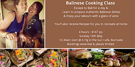 Balinese Cooking Class tickets