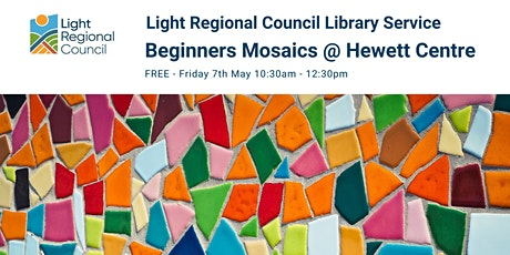 Beginners Mosaics Creative Craft Session @ The Hewett Centre tickets