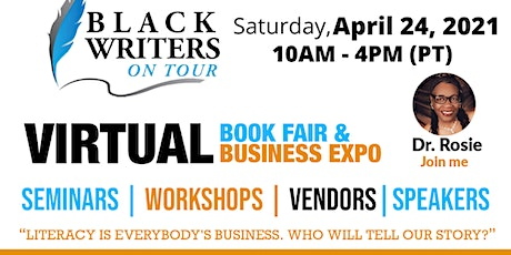 2021 Virtual Black Writers On Tour Annual Book Fair and  Tech Expo tickets