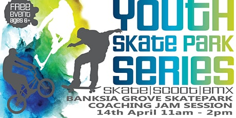City of Wanneroo - Banksia Grove skatepark coaching jam session tickets