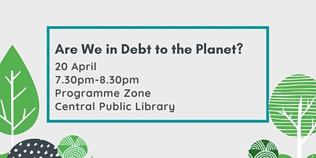 Are We in Debt to the Planet? tickets