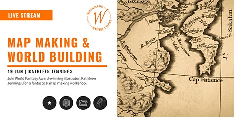 LIVE STREAM: Map Making & World Building with Kathleen Jennings tickets
