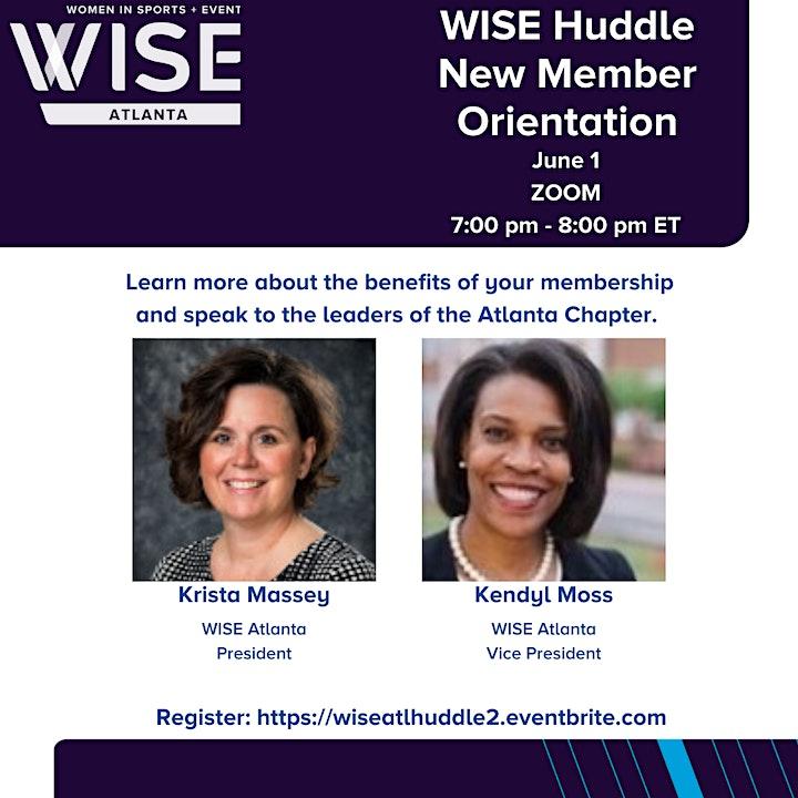WISE Huddle - New Member Orientation - #2 image