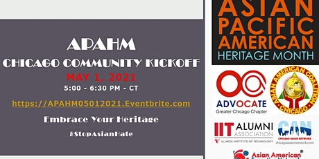 Asian Pacific American Heritage Month - Chicago Community Kickoff  - Online tickets