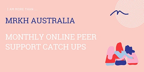 Online Peer Support Catch up tickets