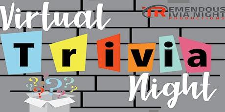 Virtual Tremendous Trivia Spring League! tickets