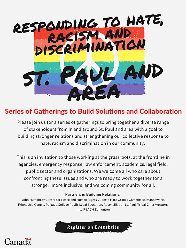 Responding to Hate, Racism and Discrimination: St. Paul and Area image