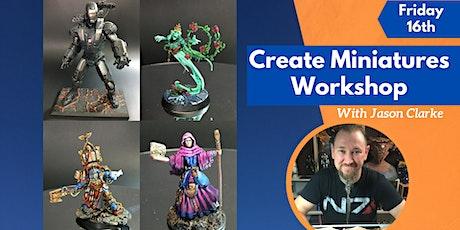 Create & Paint Miniatures Workshop tickets