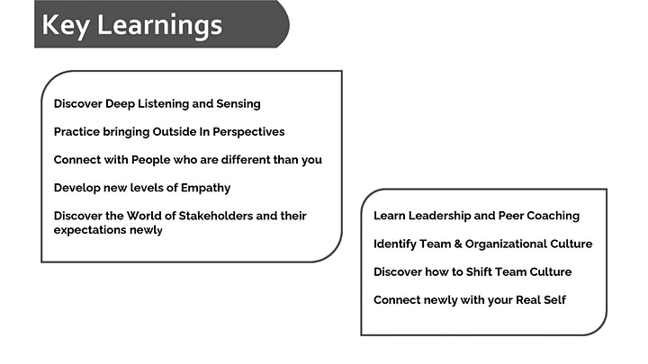 Theory U : Future of Leadership & Organization Transformation image