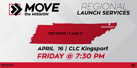 CLC Kingsport, TN Move The Mission tickets