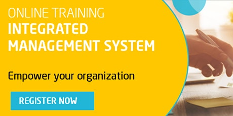 Integrated Management System Internal Auditor Online Training tickets