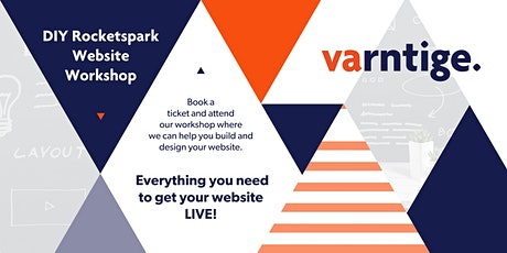 DIY Rocketspark Website Workshop - 11th May tickets