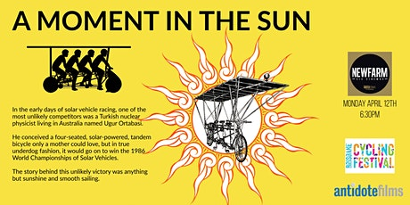 A Moment in the Sun Film Screening + Q&A - Brisbane Cycling Festival tickets