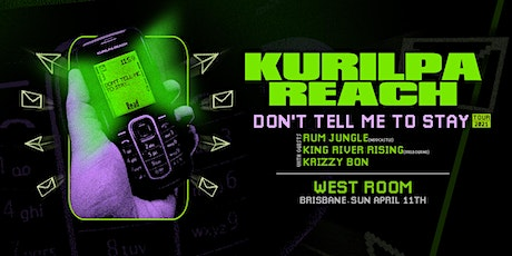 Sunday Sessions at West Room : Kurilpa Reach tickets