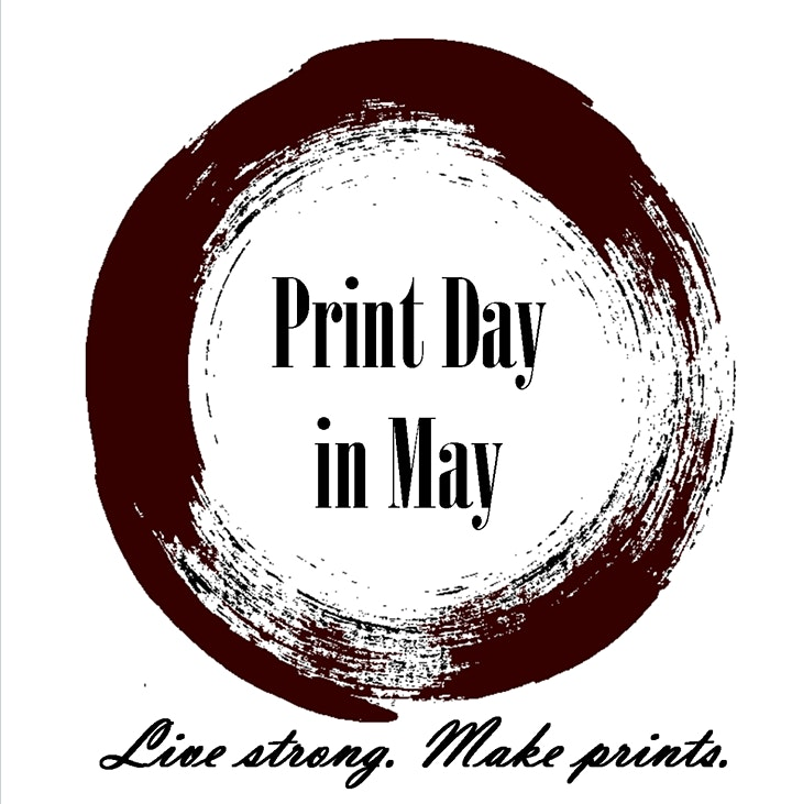Print day in May: Open studio image