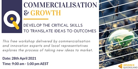 Innovate Queensland Commercialisation & Growth Workshop — Fitzroy tickets