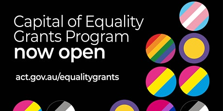 2021 Capital of Equality Grants Program - Community Information Session tickets