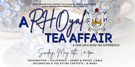 A RHOyal Tea Affair | A One-of-a-Kind Tea Experience tickets