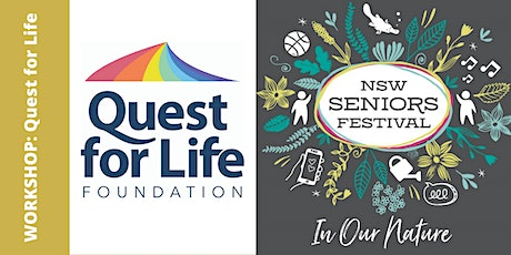 Quest for Life Workshop tickets