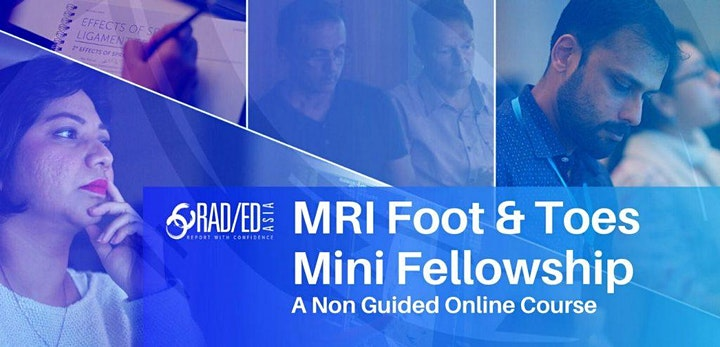 FOOT & TOES MRI ONLINE NON GUIDED MINI FELLOWSHIP 1st MAY image