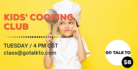 Kids Cooking Club tickets