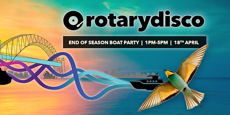 Rotarydisco - end of season boat party tickets