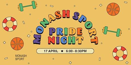 Monash Sport Pride Night tickets