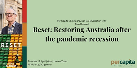 Reset: Restoring Australia after the Pandemic Recession tickets
